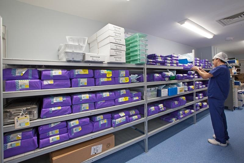 Ipswich case study static racks